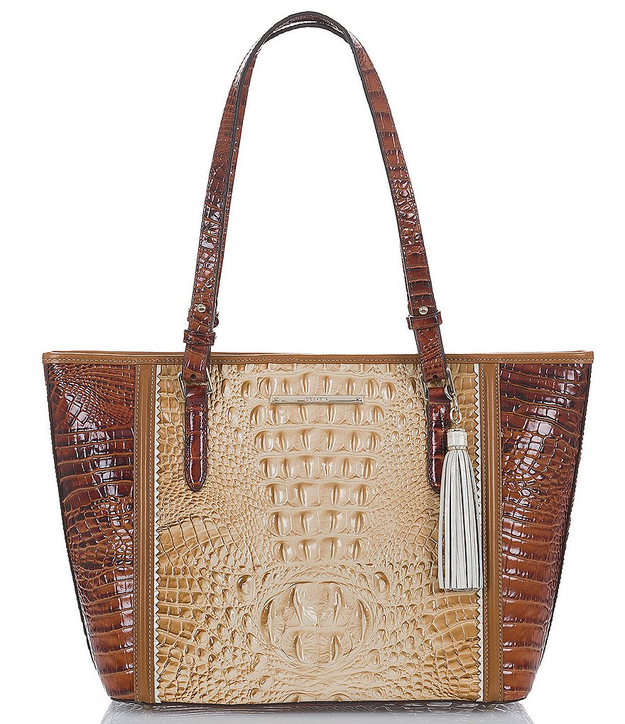 Brahmin Medina Collection Medium Asher Colorblock Tote
