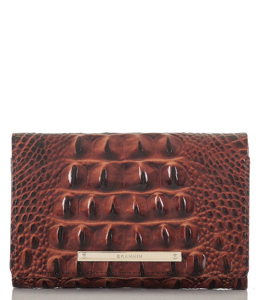 Brahmin Melbourne Collection Emma Wallet