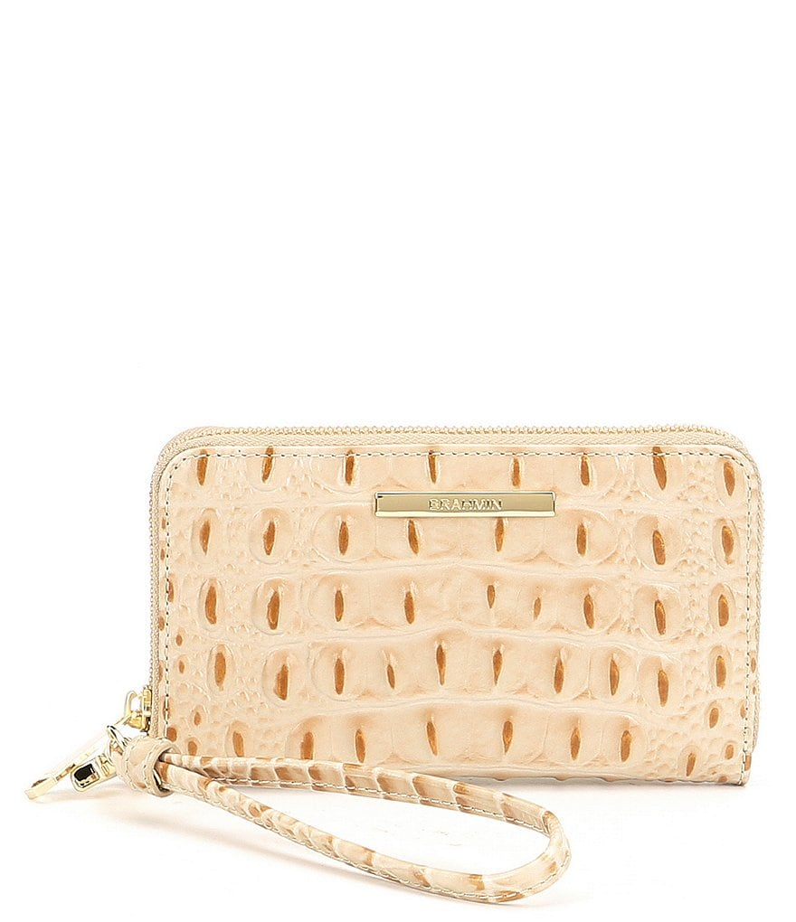Brahmin Melbourne Collection Riley Wristlet