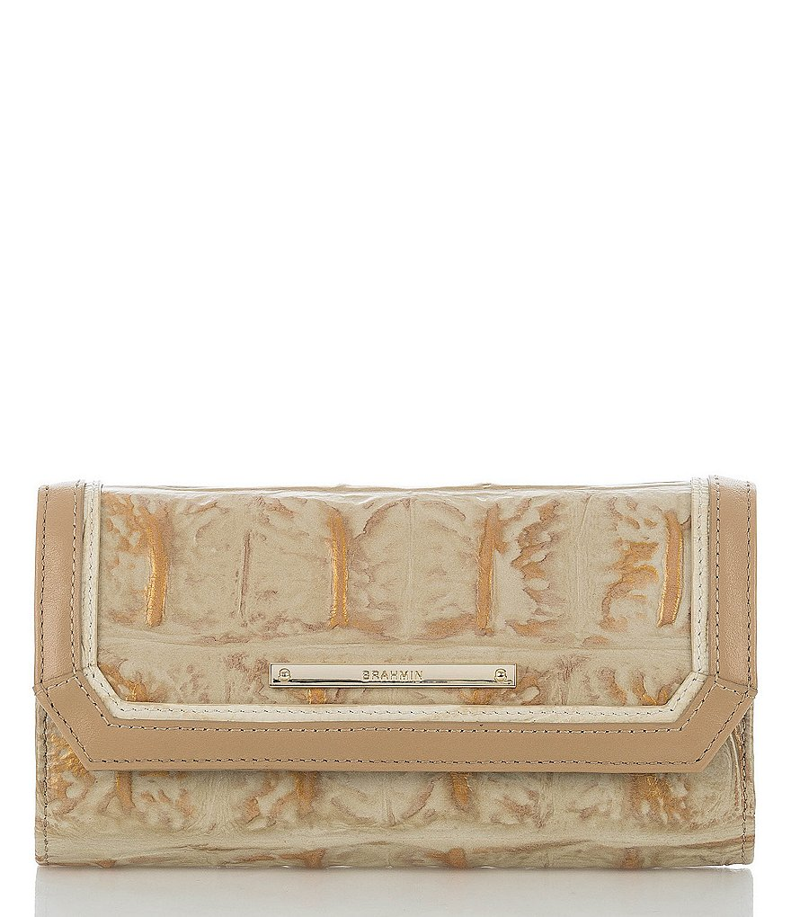 Brahmin Orinoco Collection Soft Checkbook Wallet