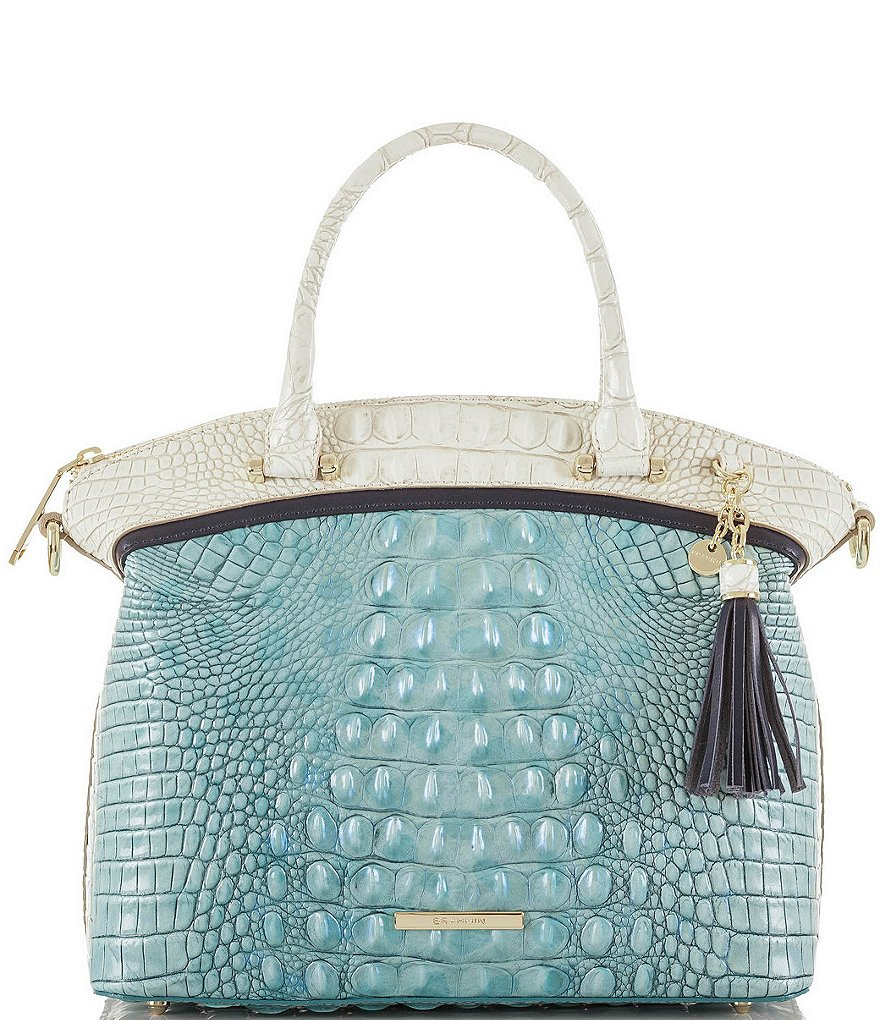Brahmin Rhama Collection Duxbury Satchel