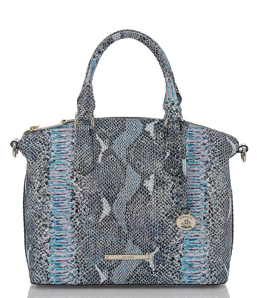 Brahmin Seville Collection Duxbury Snake Satchel