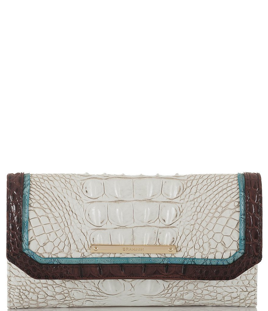 Brahmin Soroya Collection Soft Checkbook Wallet