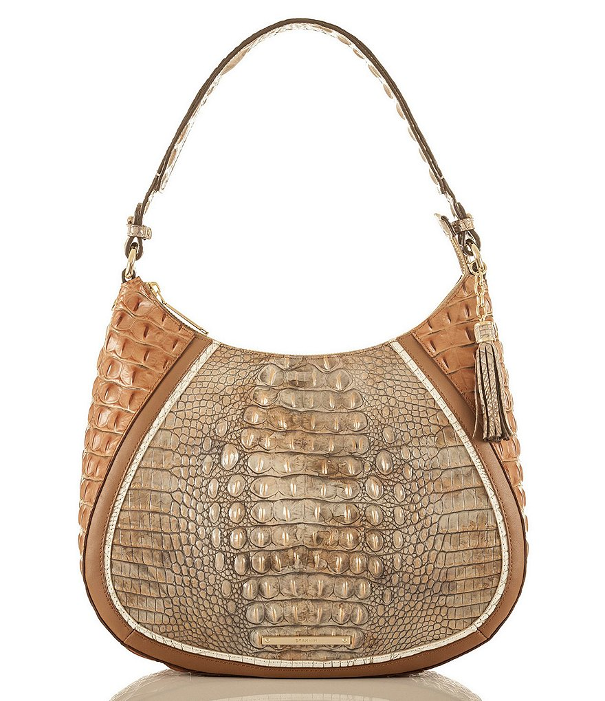 Brahmin Tri-Texture Collection Amira Hobo Bag
