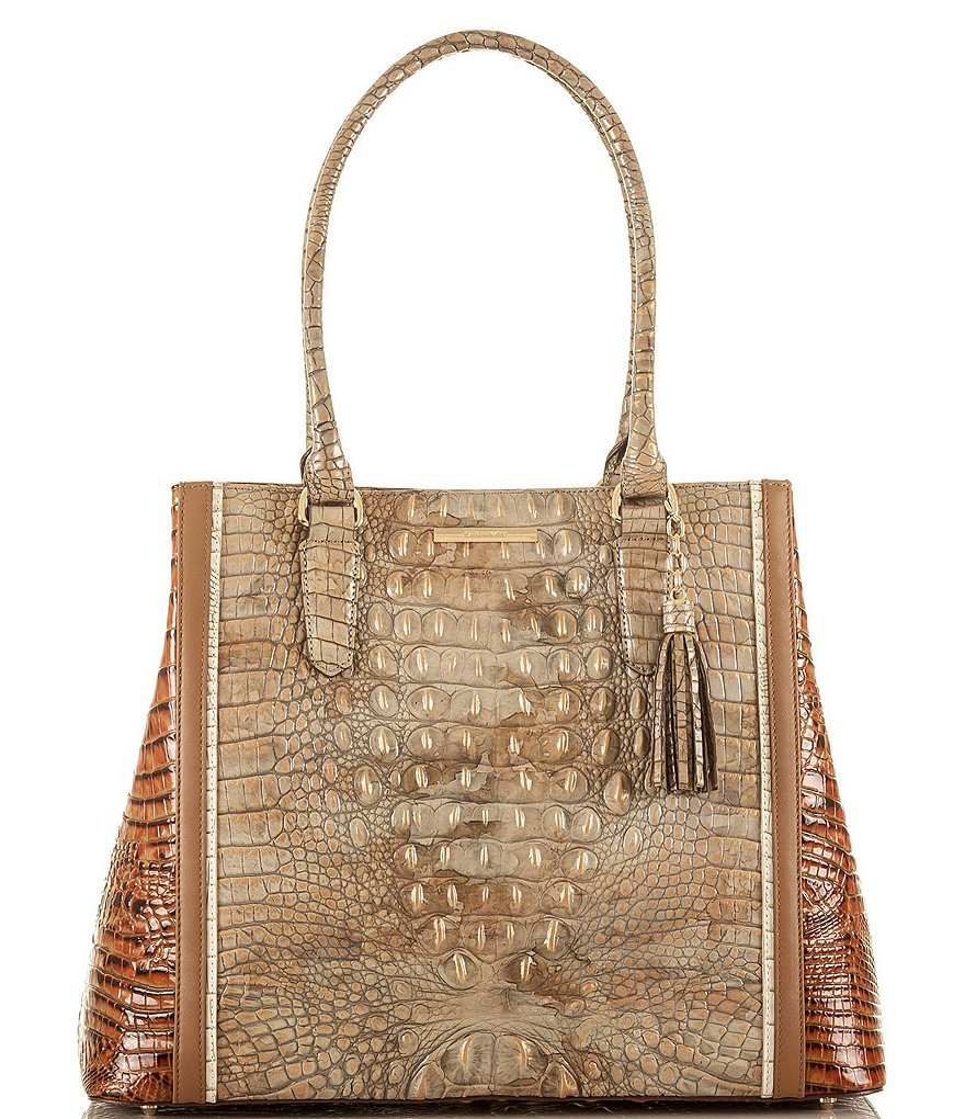 Brahmin Tri-Texture Collection Joan Tote