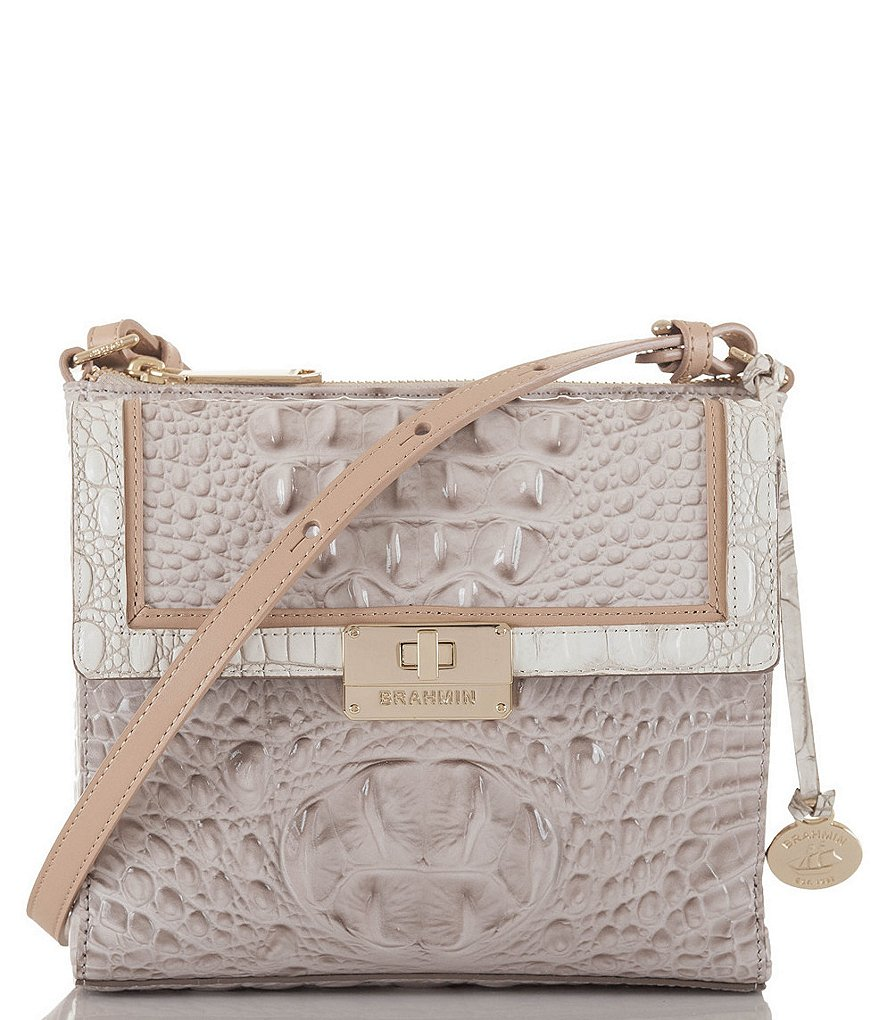 Brahmin Tri-Texture Collection Manhattan Cross-Body Bag