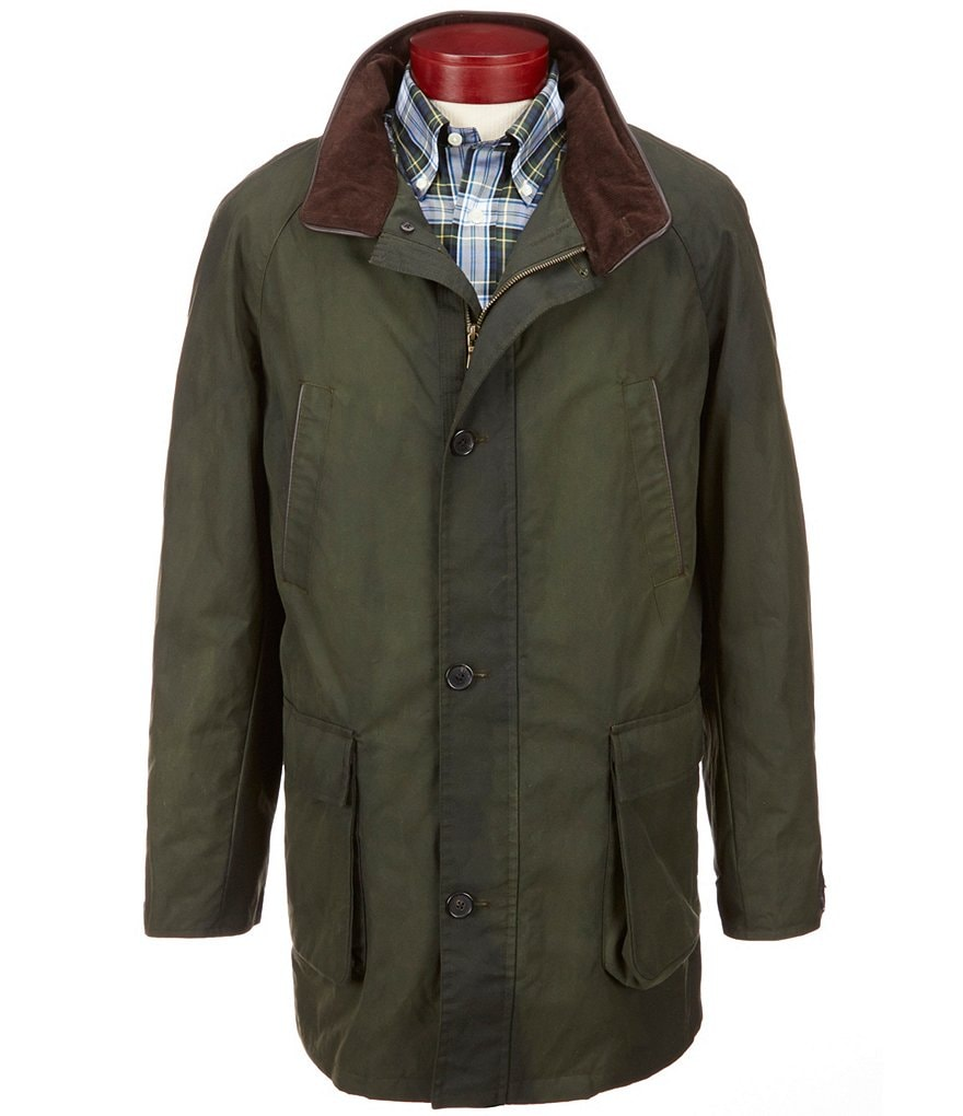 Brooks Brothers Cameron Waxed Coat