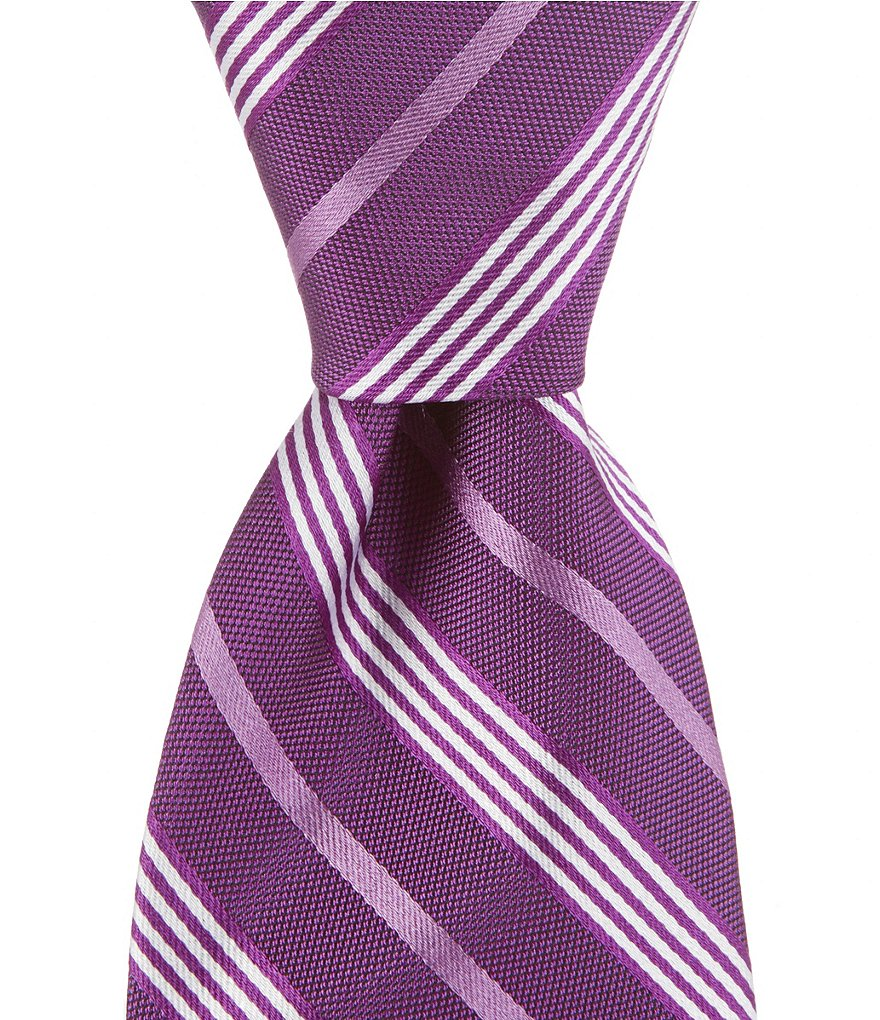 Brooks Brothers Music Stripe Traditional Silk Tie