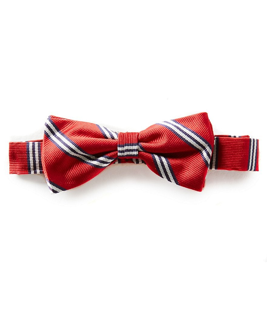 Brooks Brothers Boys Striped Silk Bow Tie