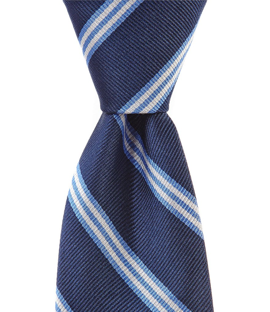 Brooks Brothers Boys Striped Silk Tie