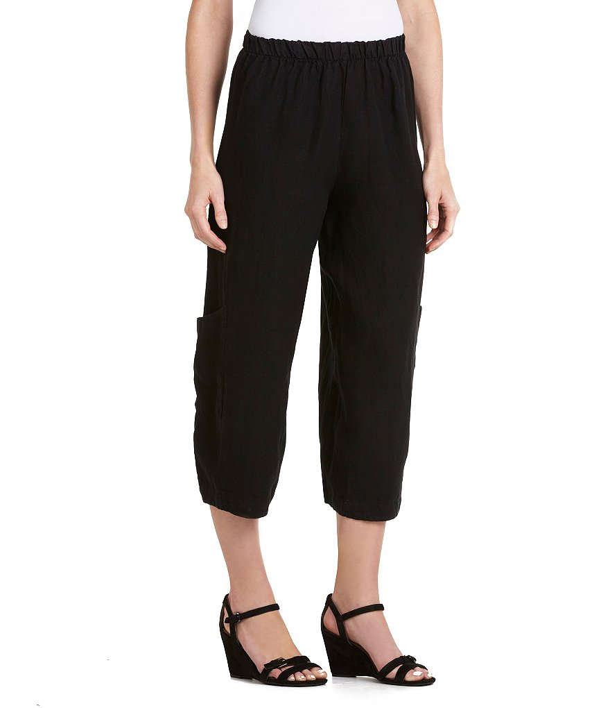 Bryn Walker Casbah Linen Ankle Pants