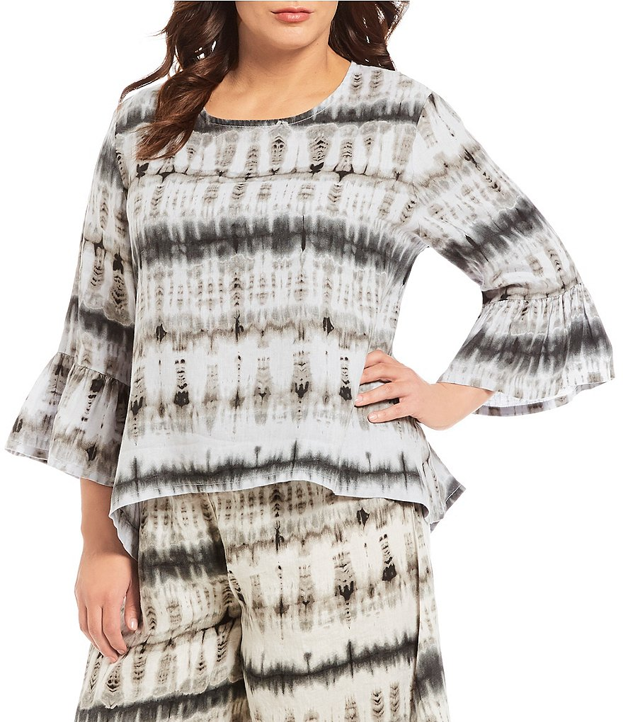 Bryn Walker Plus Fran Tie Dye Tunic