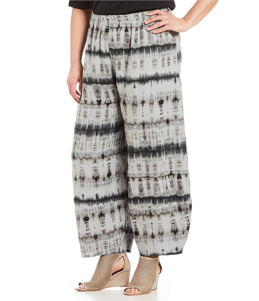 Bryn Walker Plus Oliver Wide Leg Tie Dye Pants