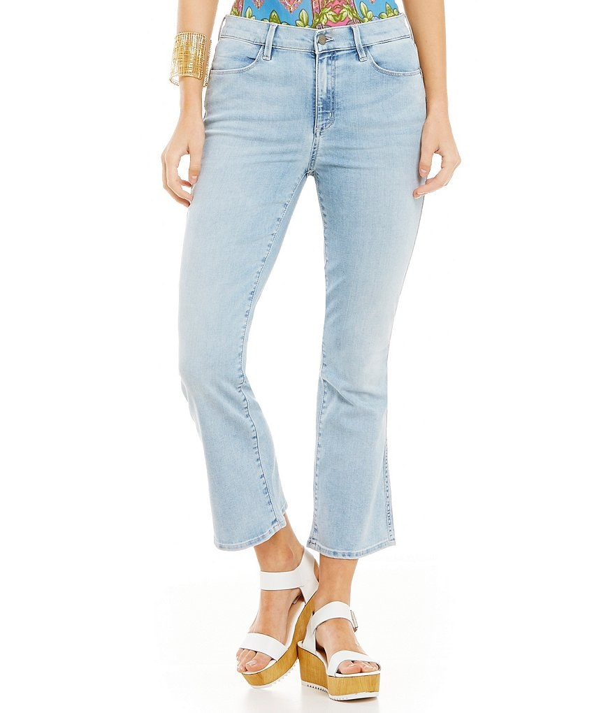 Buffalo David Bitton Inka Crop Flare Jean