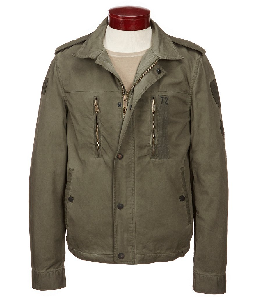 Buffalo David Bitton Jivern Canvas Jacket