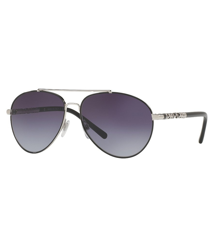 Burberry Modern Gradient Aviator Sunglasses