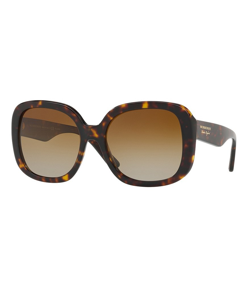 Burberry Polarized Gradient Square Sunglasses