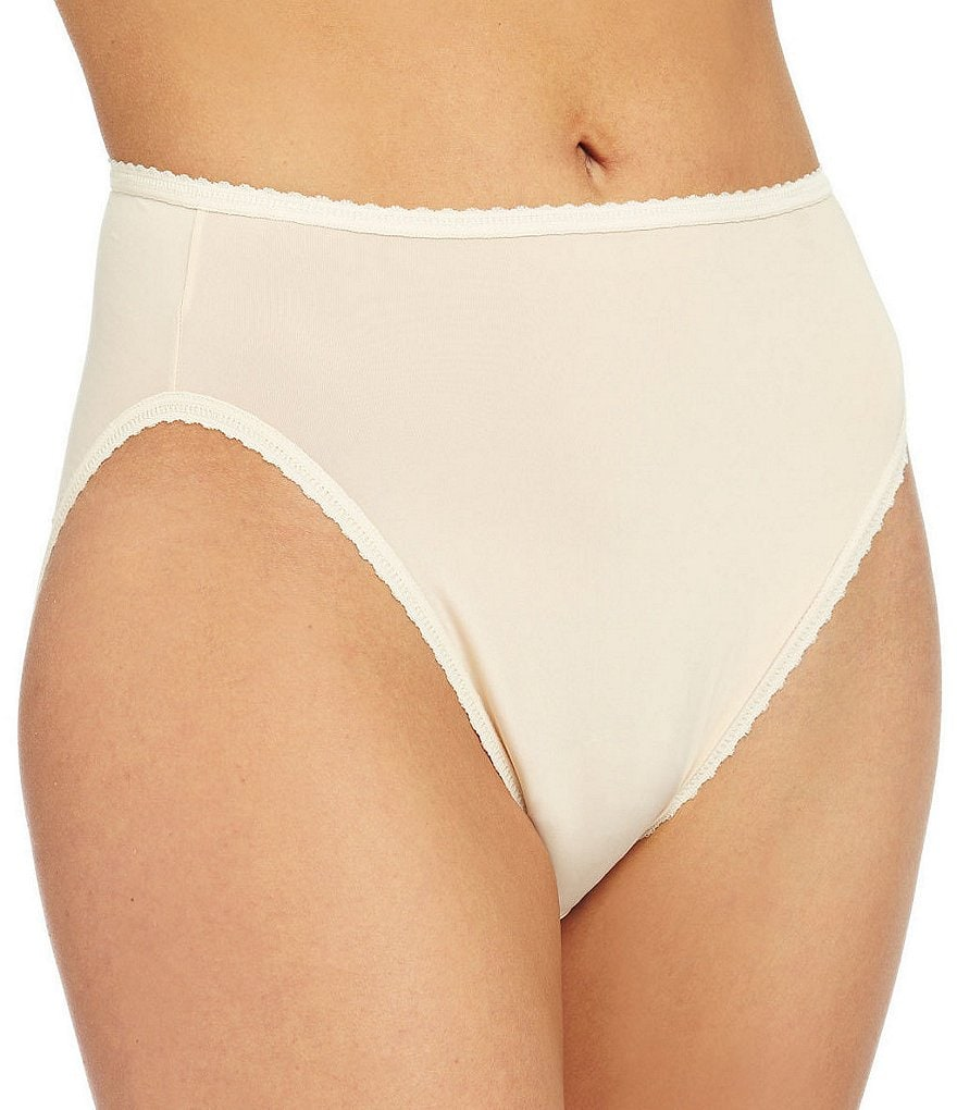 Cabernet Seamed To Fit Stretch Hi-Cut Brief Panty