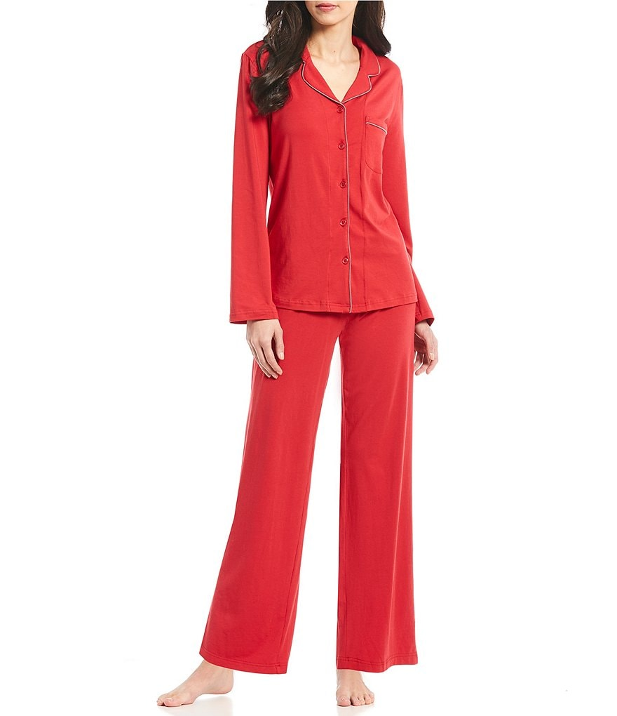 Cabernet Solid Knit Pajamas