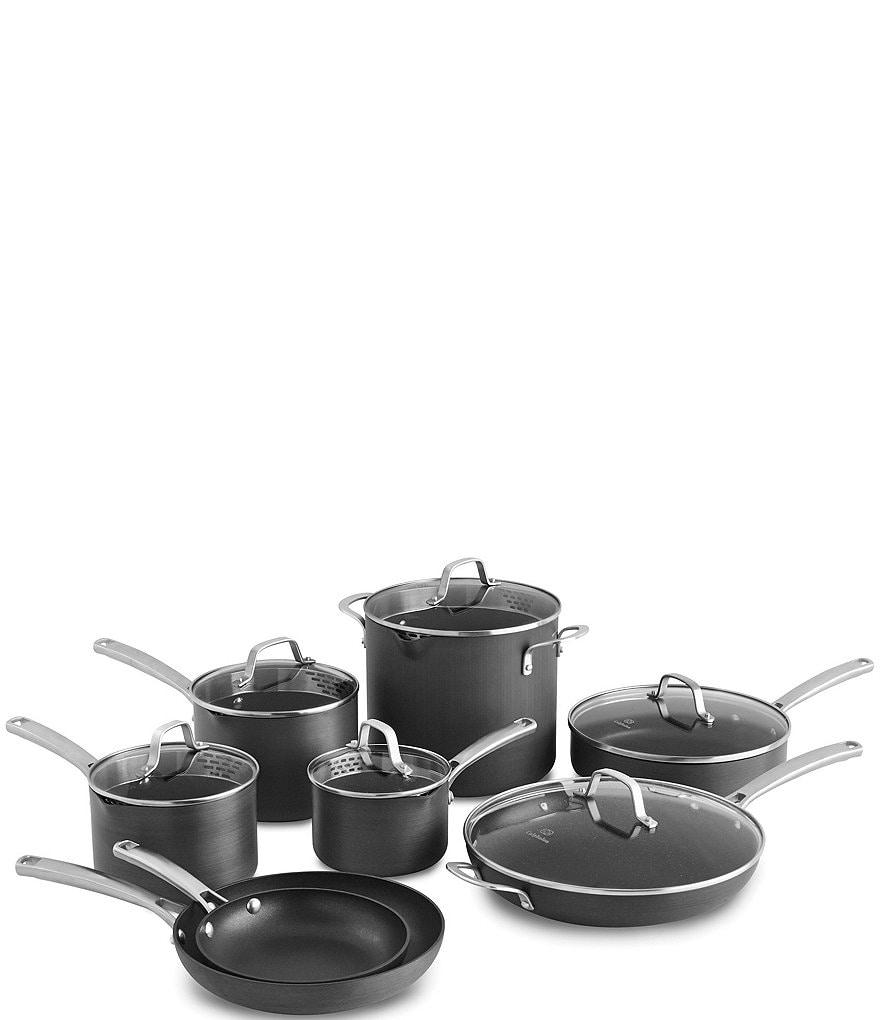 Calphalon 14-Piece Hard-Anodized Classic Nonstick Cookware Set ...