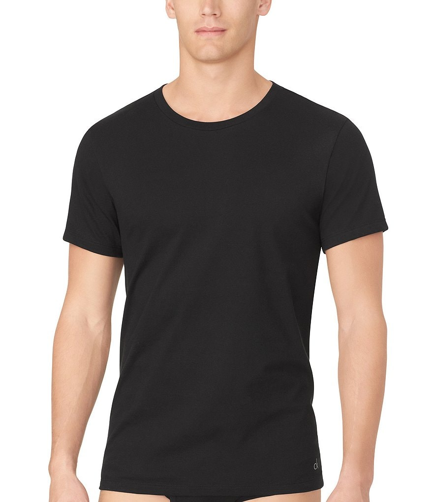 Calvin Klein Cotton Classic 3-Pack Crewneck Under Shirts