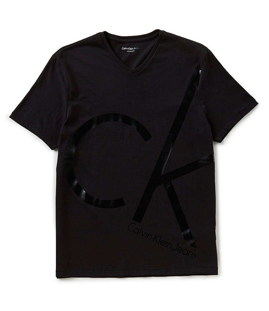 Calvin Klein Jeans Big Ck V-Neck T-Shirt