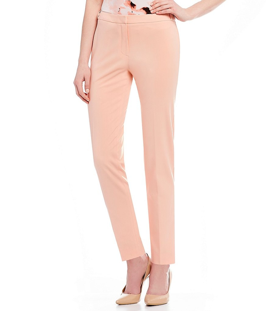Calvin Klein Lux Stretch Suiting Modern Fit Highline Pants