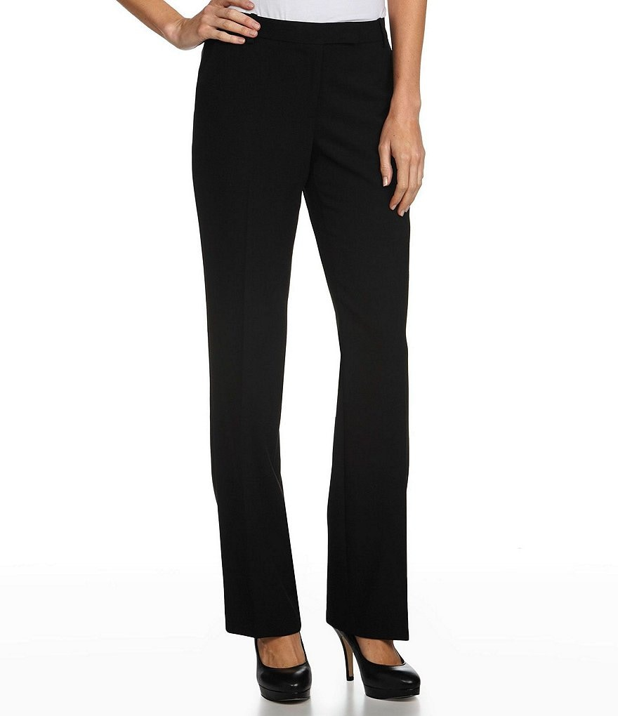 Calvin Klein Madison Straight-Leg Pants