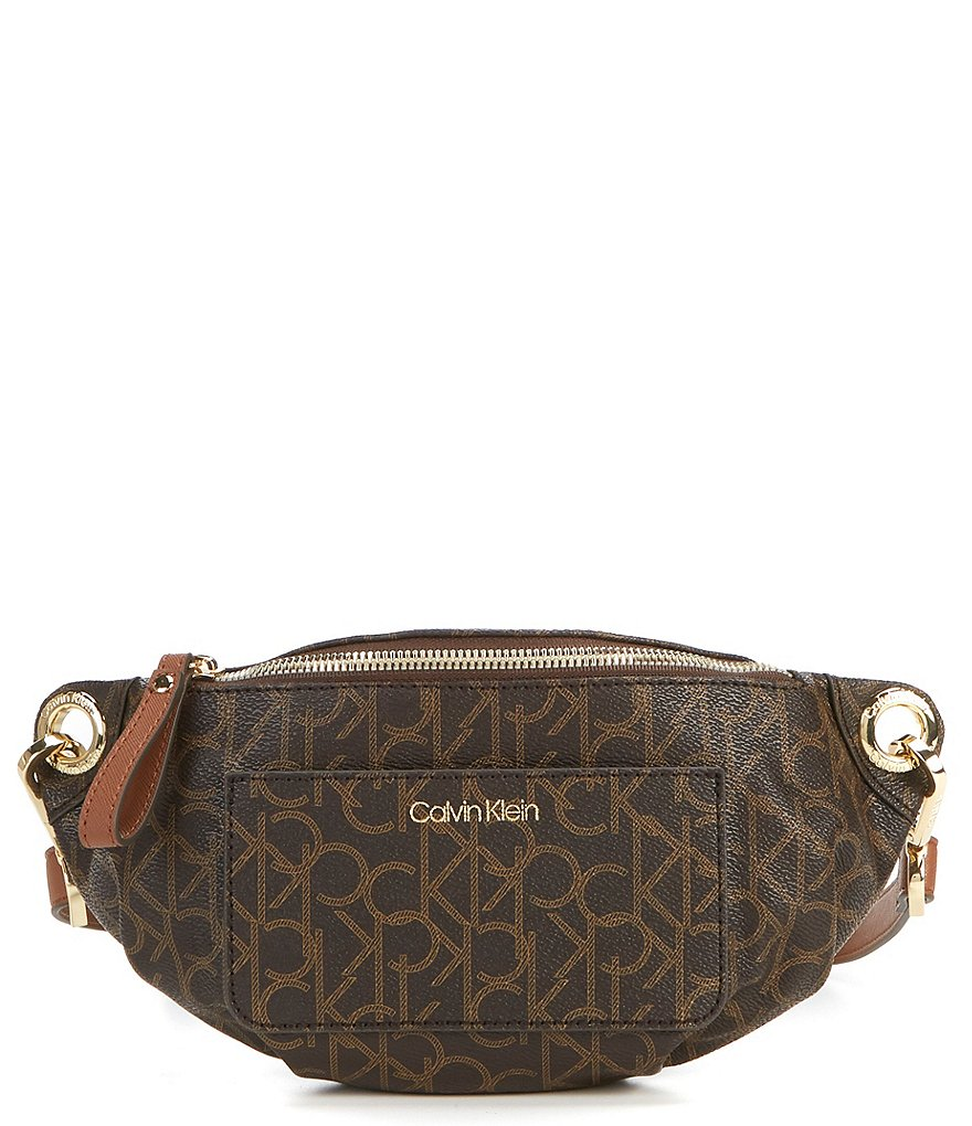 Calvin Klein Monogram Belt Bag