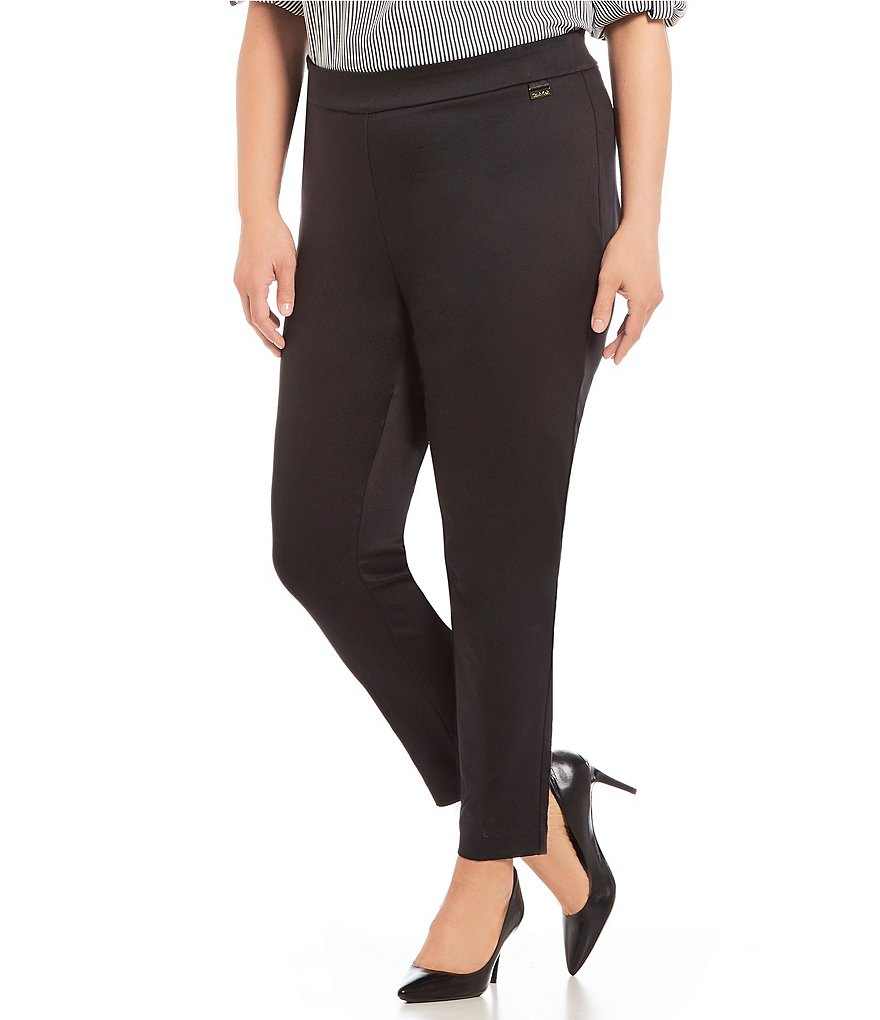 Calvin Klein Plus Pull On Cropped Legging