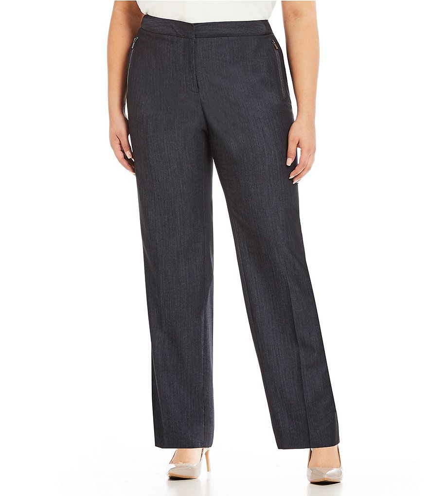 Calvin Klein Plus Zipper Pocket Pants