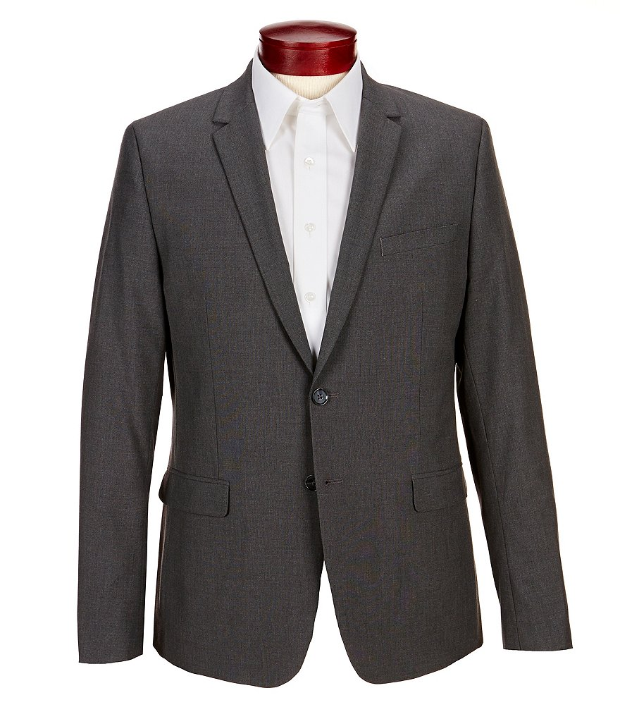 Calvin Klein Slim-Fit End-On-End Bi-Stretch Blazer