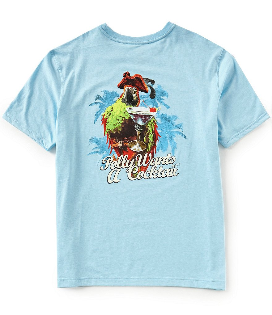 Caribbean Big & Tall Parrot Short-Sleeve Tee