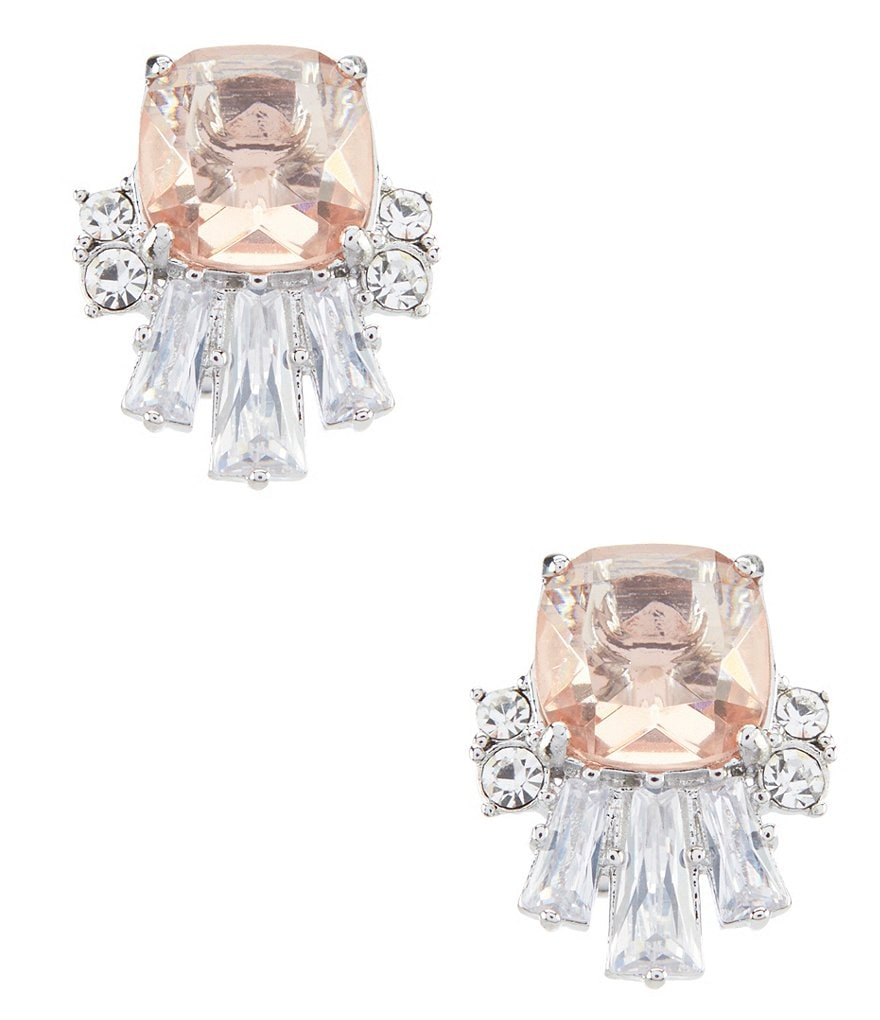 Carolee Sleek Classic Cluster Clip Earrings