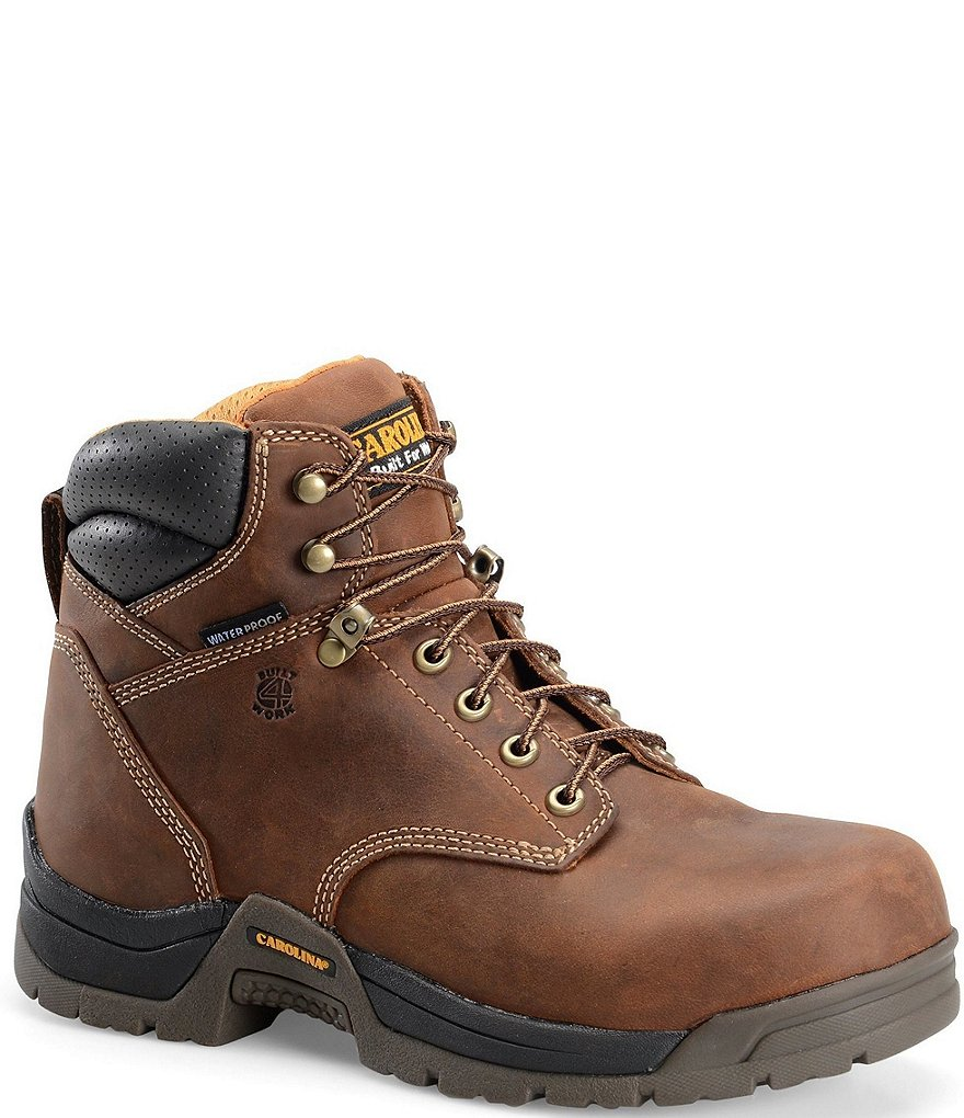 Carolina Men's Bruno Lo 6#double; Waterproof Work Boots
