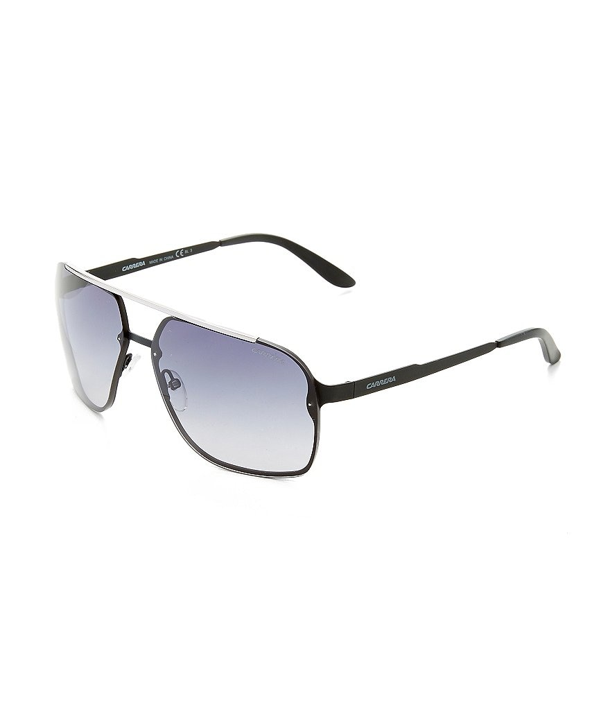 Carrera Oversized Metal UVA/UVB Protection Navigator Sunglasses