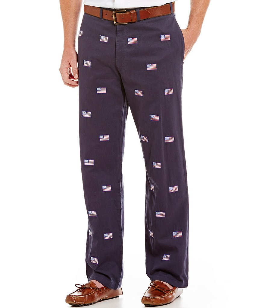 Castaway Nantucket Island - Embroidered Mariner Pant