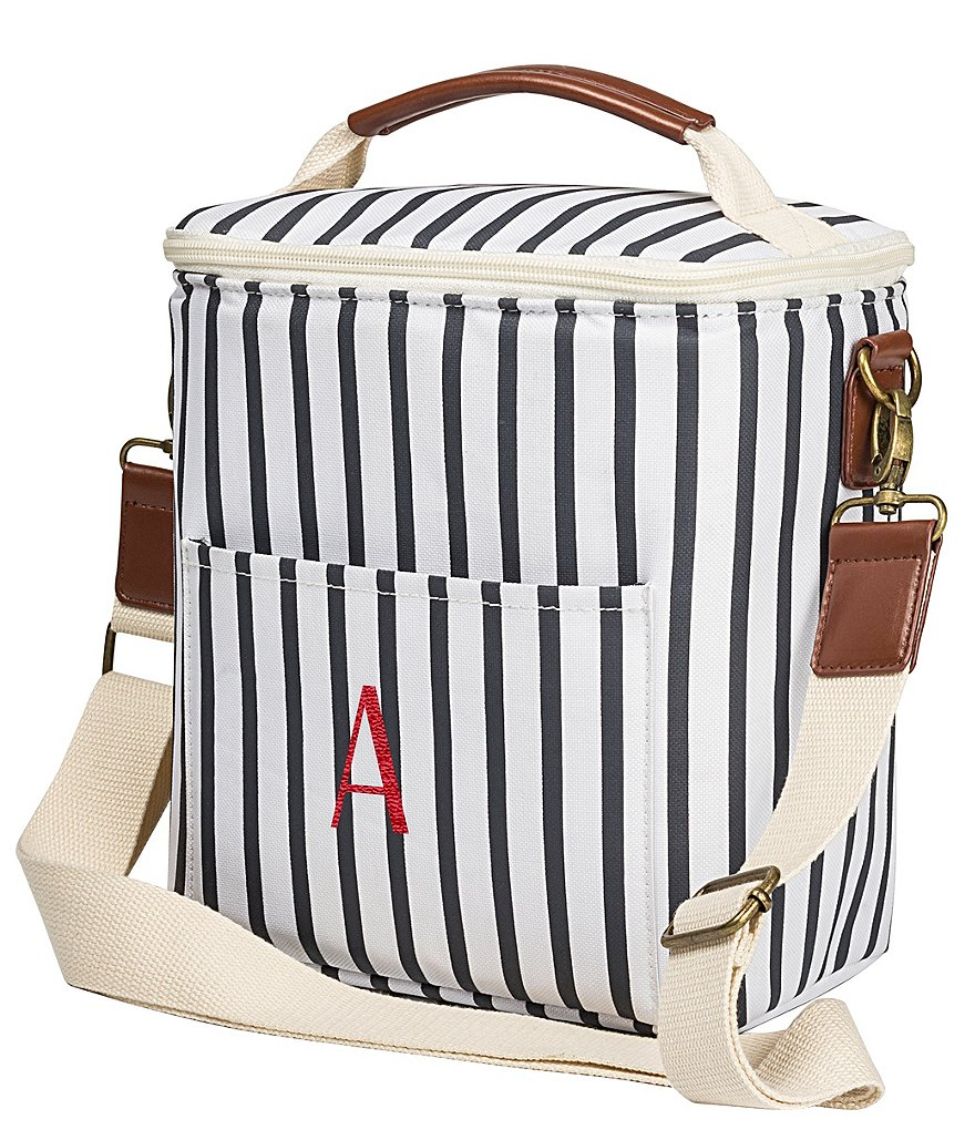 Cathy s Concepts Personalized Striped Bottle Cooler  9c66b470dfba2