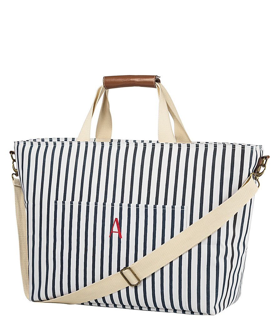 Cathy s Concepts Personalized Striped Cooler Tote  8ca41c242a07c