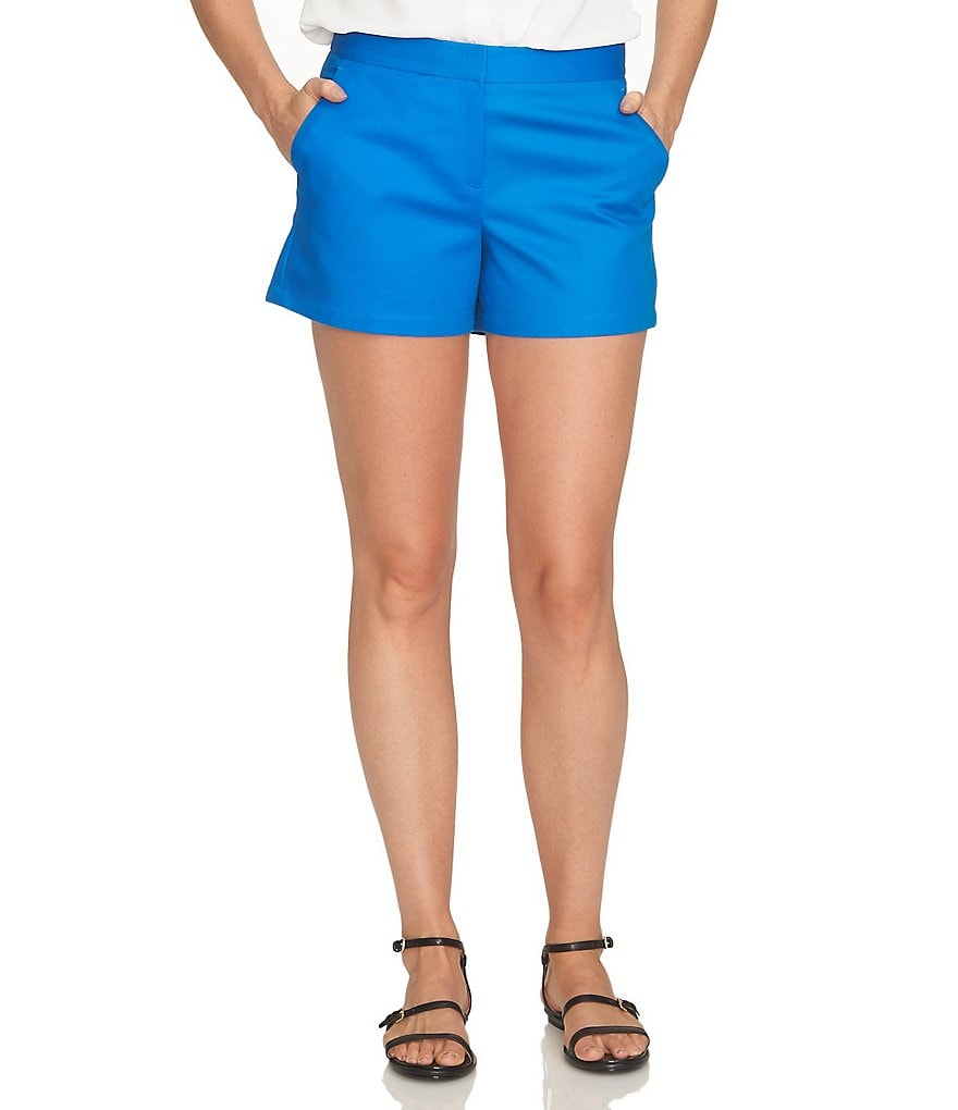 CeCe Double Weave Slim-Fit Short