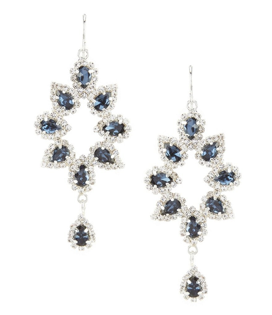 Cezanne Open Floral Statement Earrings