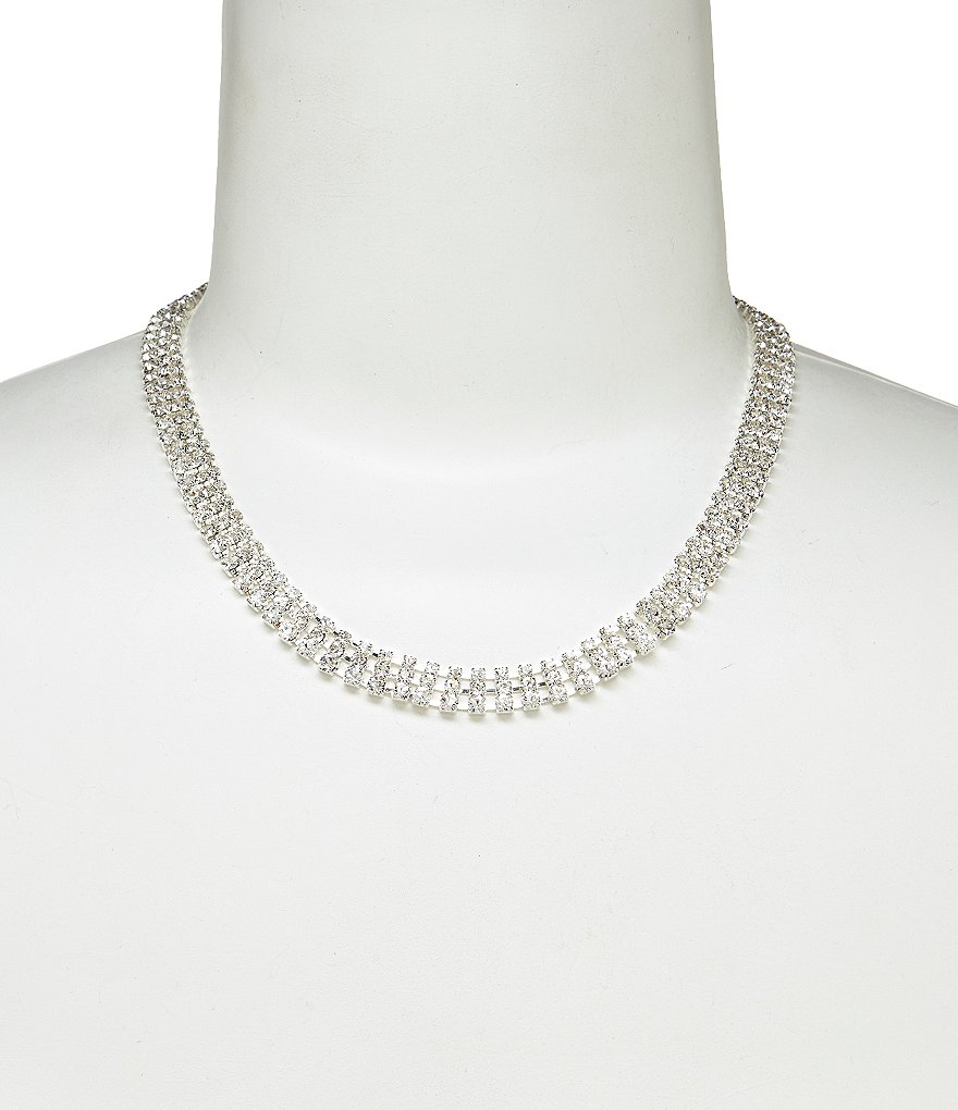 Cezanne Rhinestone Collar Necklace