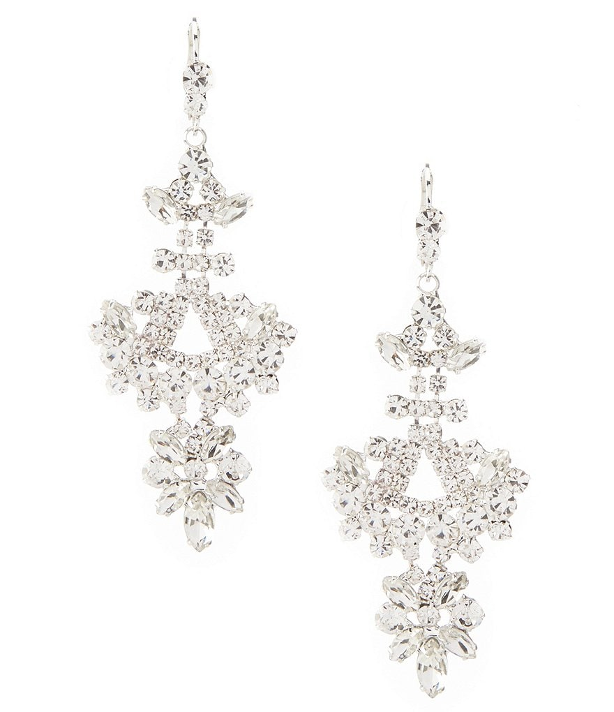 Cezanne Sharp Chandelier Earrings
