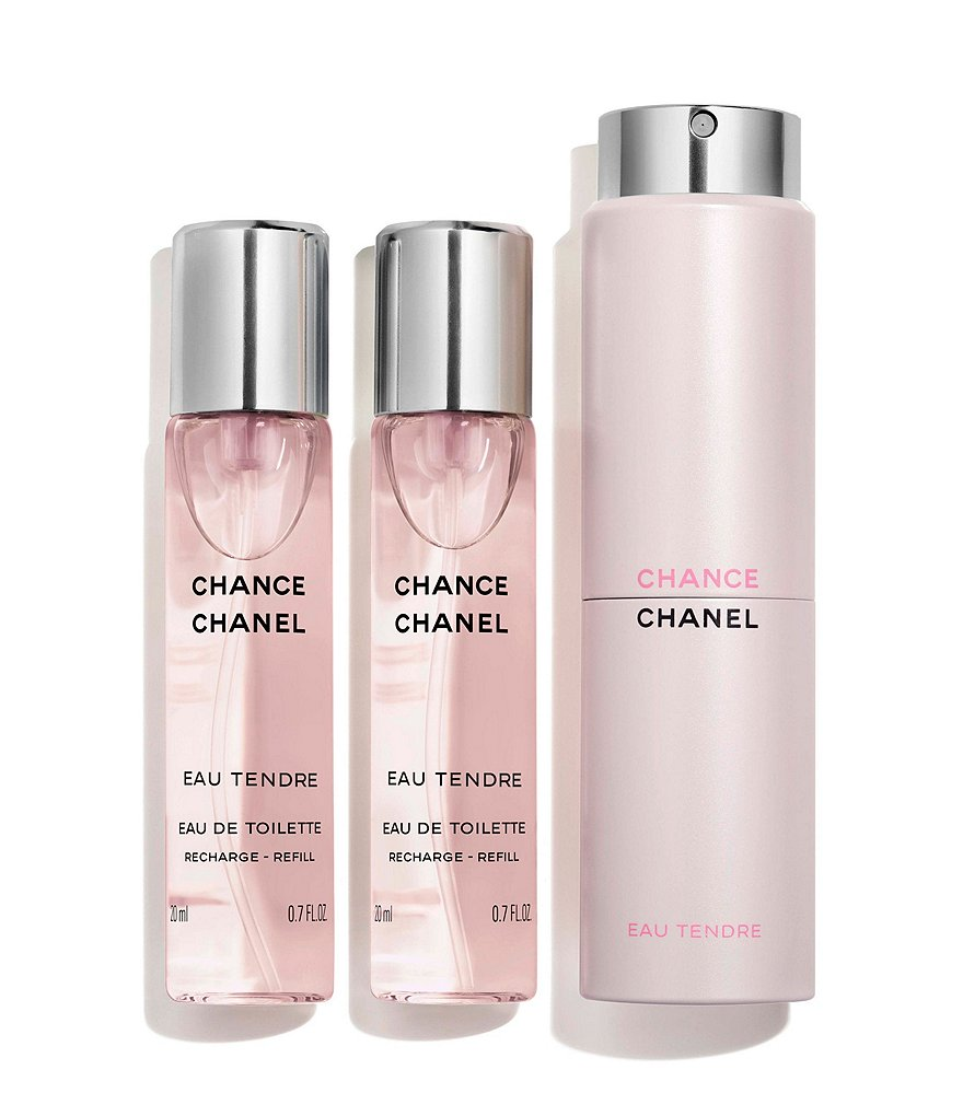 CHANEL CHANCE EAU TENDRE EAU DE TOILETTE TWIST AND SPRAY