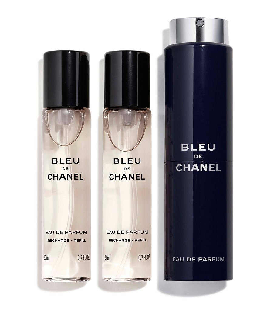 CHANEL BLEU DE CHANEL EAU DE PARFUM POUR HOME REFILLABLE TRAVEL SPRAY