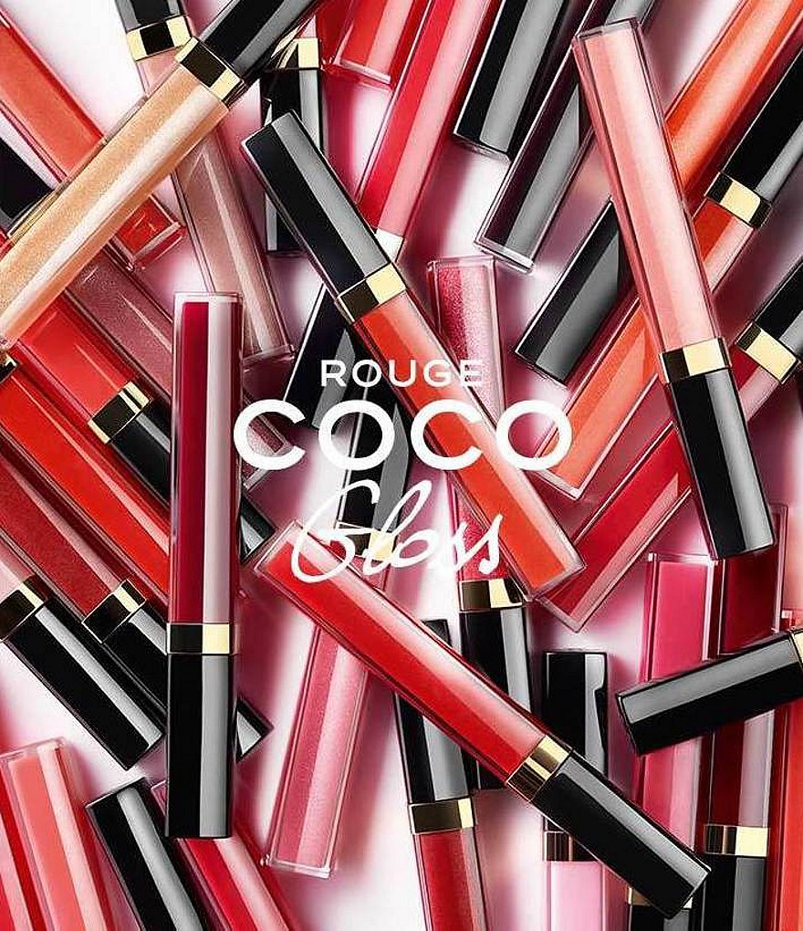 CHANEL ROUGE COCO GLOSS COLLECTION