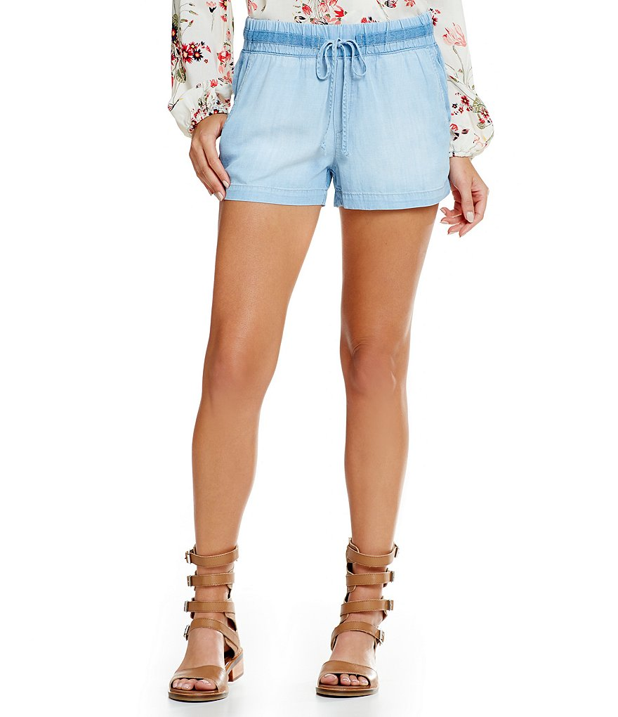 Chelsea & Violet Chambray Shorts