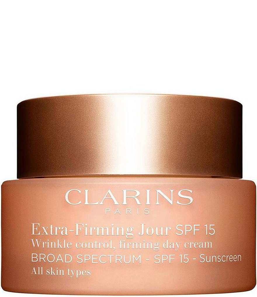 Clarins Extra-Firming Wrinkle Control Firming Day Cream Broad Spectrum SPF 15 All Skin Types