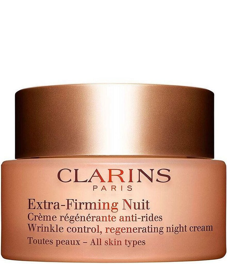 Clarins Extra-Firming Wrinkle Control Regenerating Night Cream All Skin Types