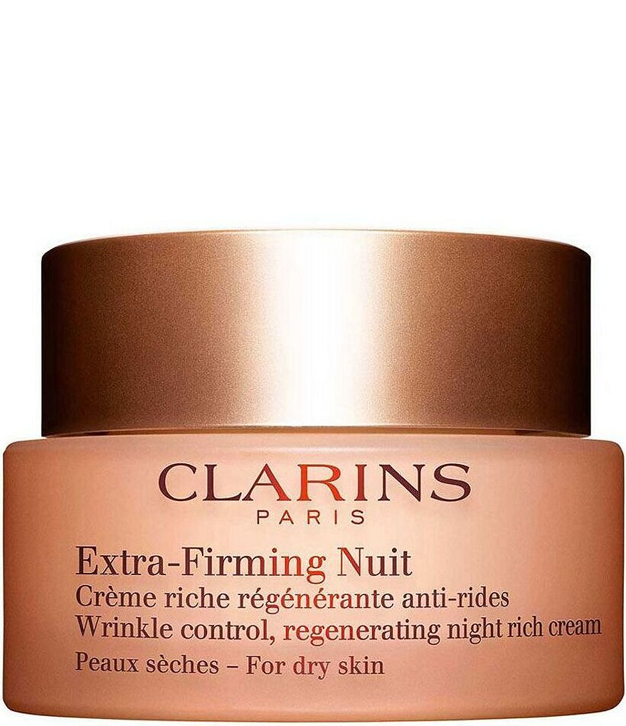 Clarins Extra-Firming Wrinkle Control Regnerating Night Cream For Dry Skin